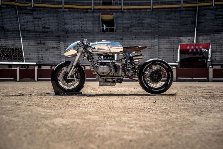 "Awesome custom BMW R100RS called ""Silver Bullet"" built by XTR Pepo, one of the best custom motorcycle builders in the world."