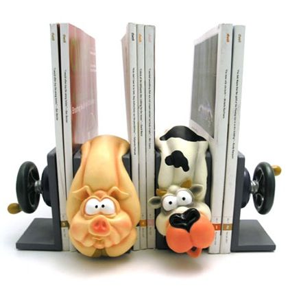 Animal Bookend  Designed by Wrapables 56 best Bookends images on Pinterest Book holders and