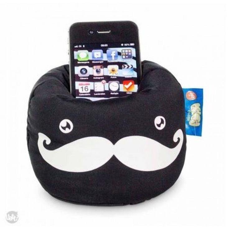 Smartphone-Kissen-Telefon-Halter - Schnurrbart aus Großhandel und Import