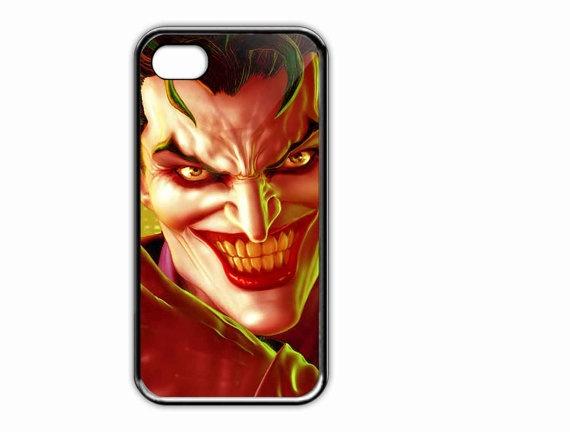 Apple iPhone Case Halloween Scary Evil Joker  For by AmbuRadol, $15.50
