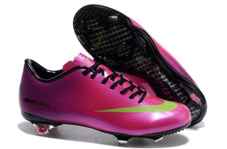 b17225ca50e0 Nike Mercurial Vapor IX FG Mens Firm Ground Soccer Cleats(Pink Purple Volt  White)