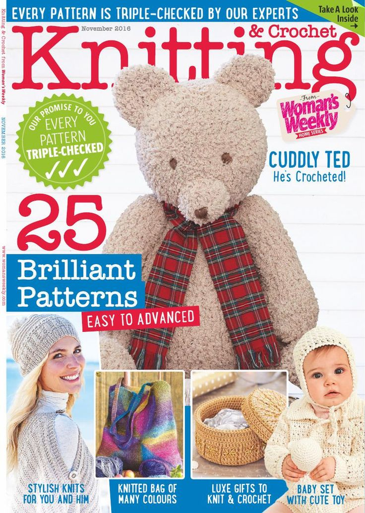 Knitting & Crochet November 2016