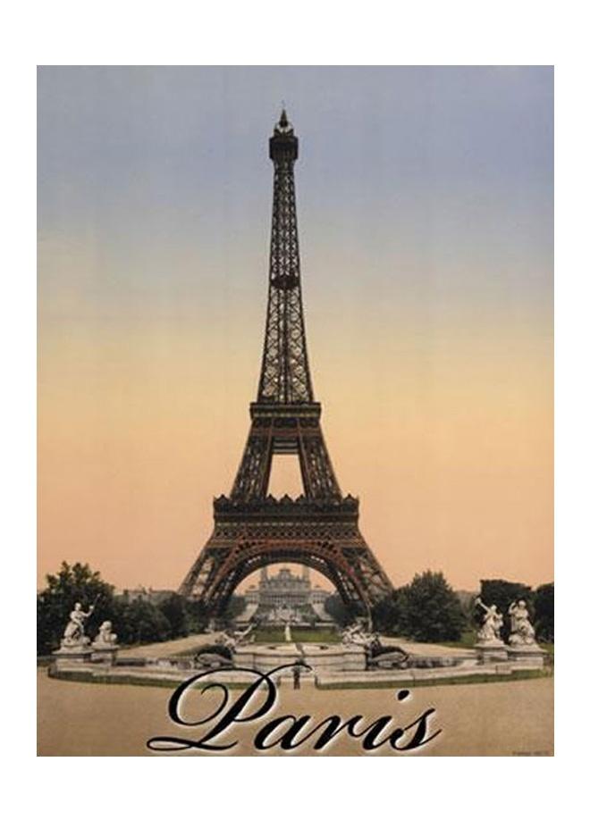 French Vintage Karton afiş - paris tour eiffel 24 x 32 cm Markafoni'de 9,99 TL yerine 6,99 TL! Satın almak için: http://www.markafoni.com/product/3266777/