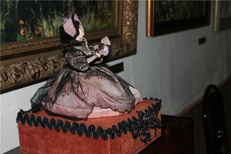 """Французский музыкальный автомат.""""Прощание с птичкой"""" Смотрите видео! / Антикварные куклы, реплики / Шопик. Продать купить куклу / Бэйбики. Куклы фото. Одежда для кукол"""