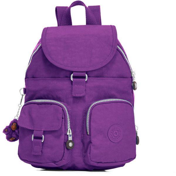 Kipling Lovebug Small Backpack ($40) ❤ liked on Polyvore featuring bags, backpacks, tile purple, kipling tote bag, backpack tote, kipling, purple backpack and purple tote bags