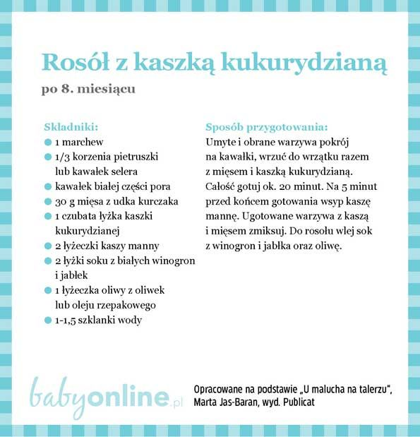 Przepisy dla niemowlaka - Zupki dla niemowlaka   Strona 17   Baby online