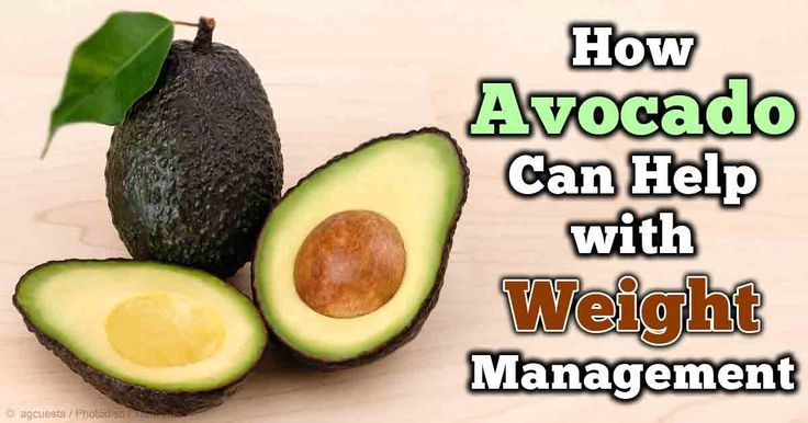 is avocado good to eat when trying to lose weight