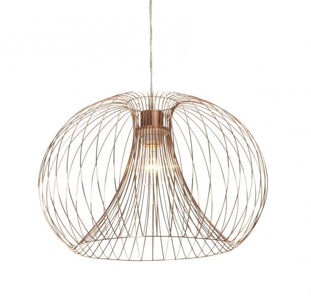 Beautiful Jonas Wire Copper Pendant Ceiling Light Wire ... on