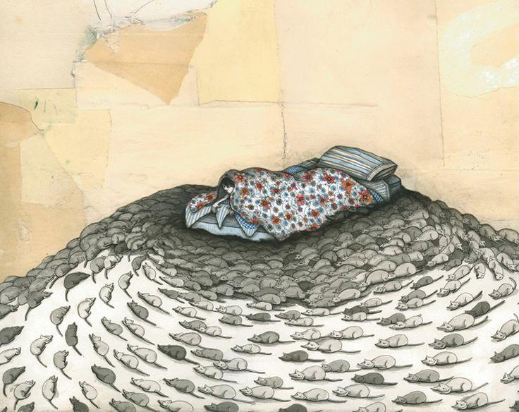 Mel Kadel - again love his patternwork