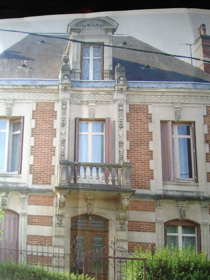 Recently bought this facade of an old french mansion. For sale at our shop now.  www.pietjonker.com