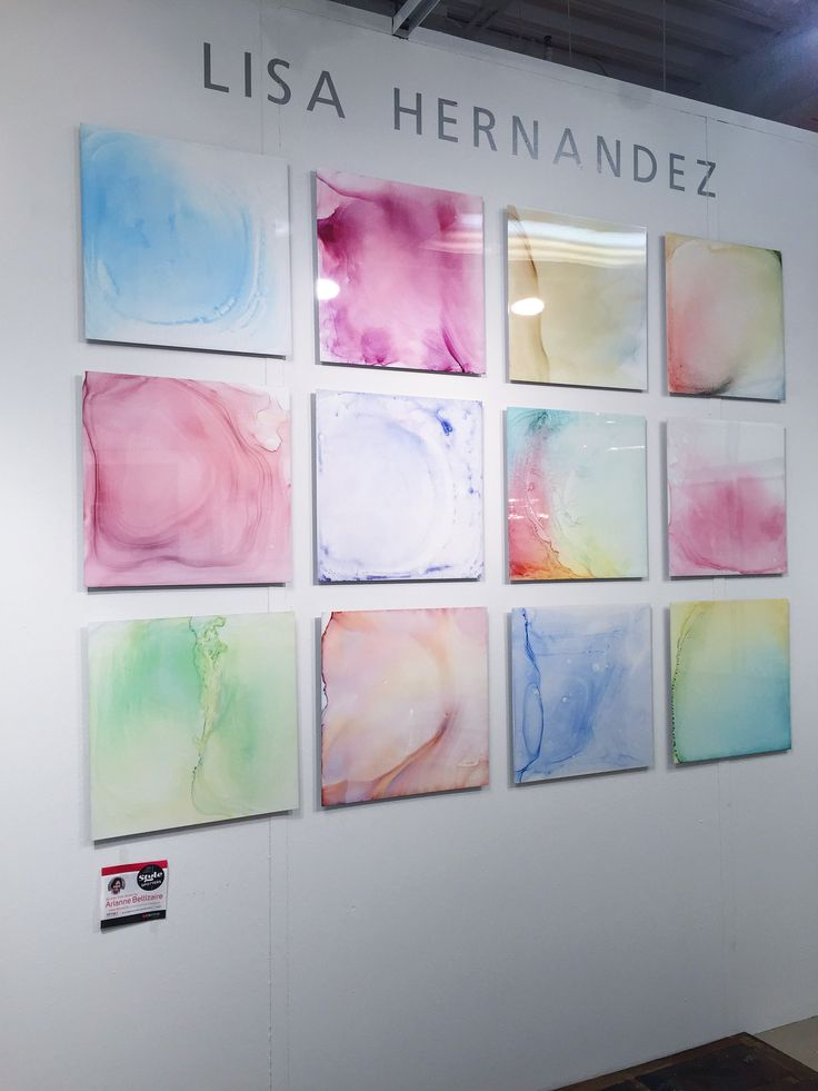 These Thin Metal Art Panels By Lisa Hernandez Are Visually Appealing And The Colors Represent A