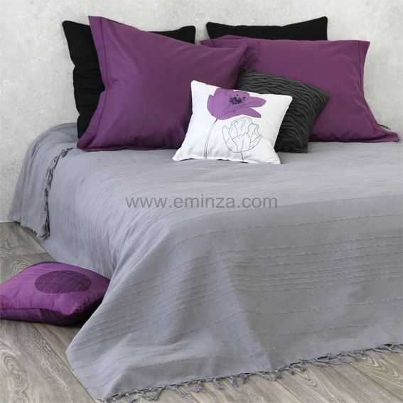 couvre lit gris et violet 25 best rideaux rebecca images on Pinterest | Blinds, Child room  couvre lit gris et violet