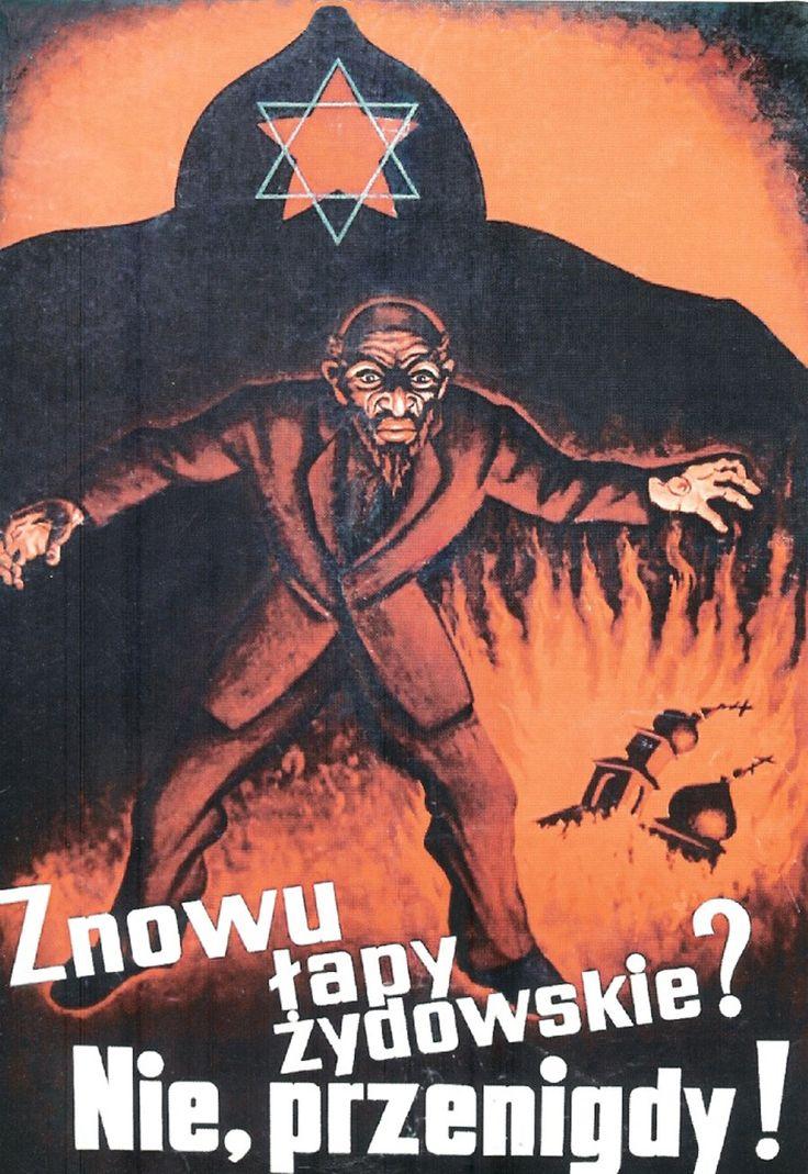 anti-semitic posters ww2 - Google Search