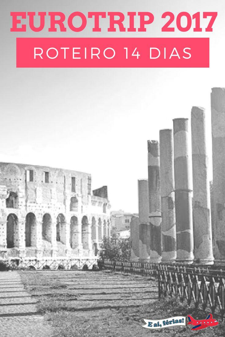 Prévia do nosso roteiro de 14 dias pela Europa, passando por Frankfurt (Alemanha), Lucerna (Suíça) e Roma (Itália)