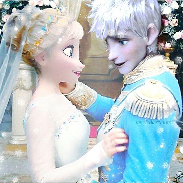 Jack And Elsa Wedding Day Photo