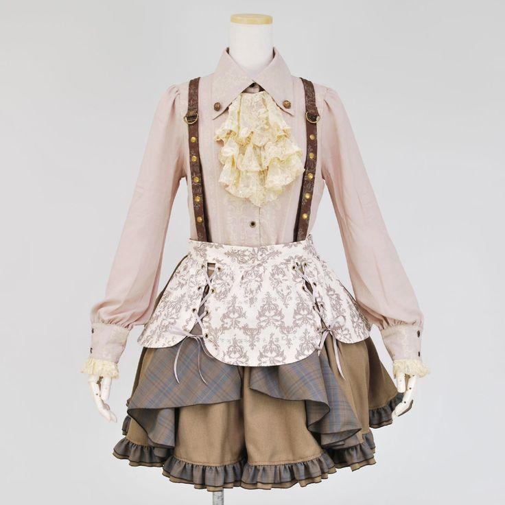 steampunk-and-junk:  Japanese Steampunk Fashion @ Kincs Web Shop