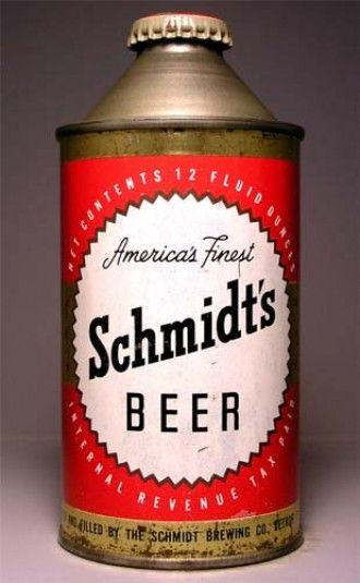 Schmidts Beer Can