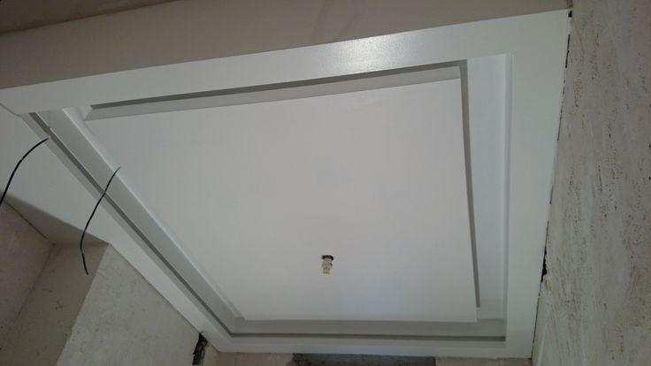 гипсокартонный потолок 13. необычная подсветка, все секреты. Gypsum ceil...