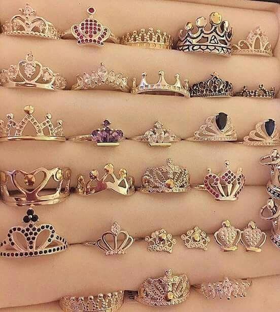 Best 25+ Crown rings ideas on Pinterest | Princess crown ...