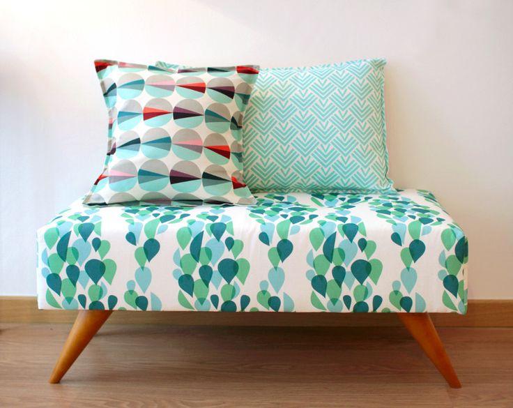 17 meilleures id es propos de sofa en patchwork sur pinterest chaise en patchwork chaises - Canape colore ...