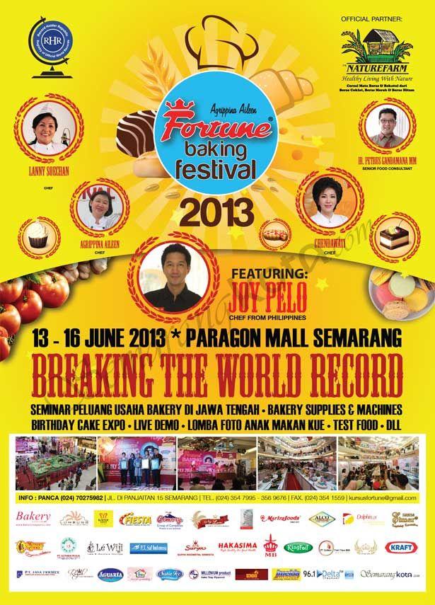 Fortune Baking Festival 2013, Mal Paragon #Semarang
