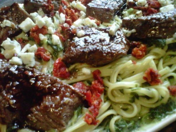 Steak gorgonzola la olive garden recipe gardens venison and style for Olive garden steak gorgonzola alfredo