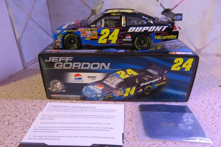 #24 Jeff Gordon 2008 PEPSI 1/24 Scale NASCAR Die Cast Chevrolet Impala SS Dupont #Action #Chevrolet