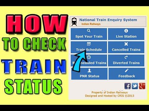 How to check train status hindi internet ki kam jankari wala bhi is tric...