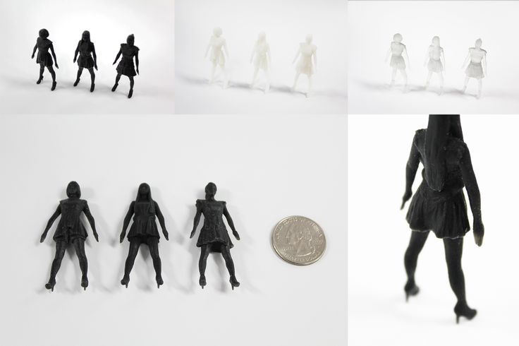It is a figure of Japanese singer Perfume  #3Dprint #figure #otaku 日本の歌手Perfumeのフィギュアを出力してみました!