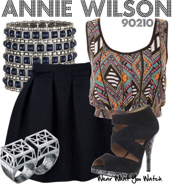 Inspired by character Annie Wilson played by Shenae Grimes on the CW's 90210.