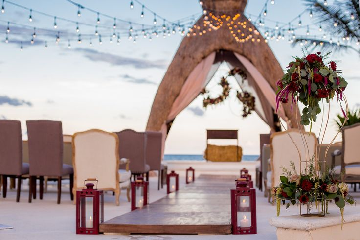 Gorgeous Ocean View Ceremony Venue Without The Mess Of The Sand DreamsRivieraCancun
