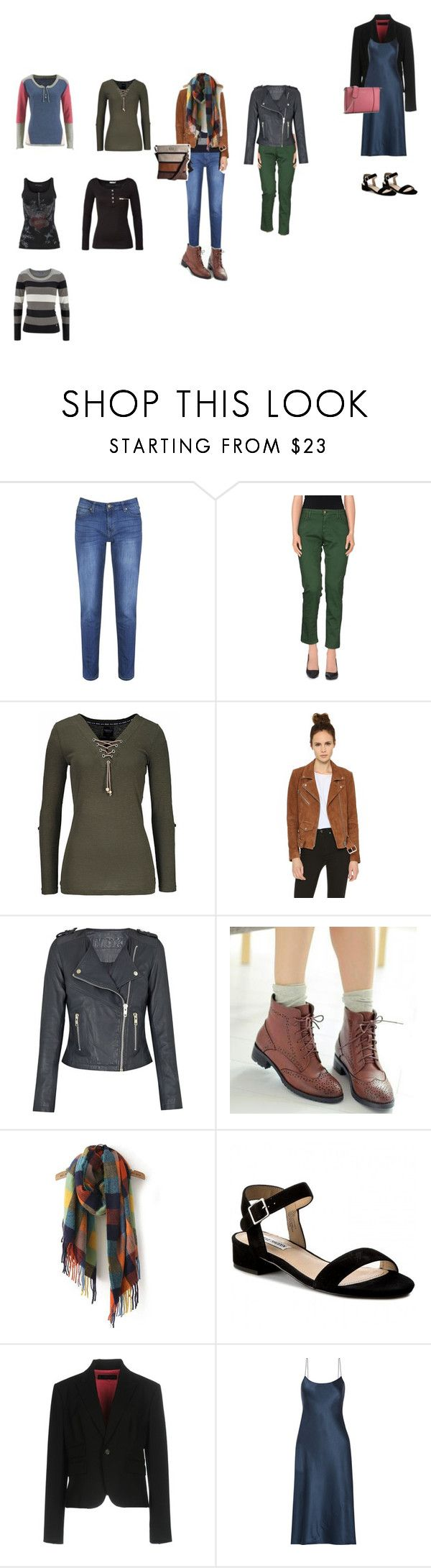"""""""tlumené barvy"""" by jara-mira on Polyvore featuring Brakeburn, Basicon, Veda, Pangmama, Dsquared2 and Theory"""