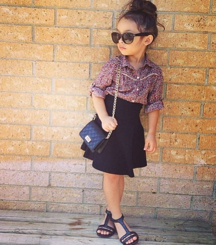 chanel kids. too perfect! chanel kids