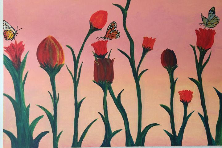 Tulips - 3 cheers