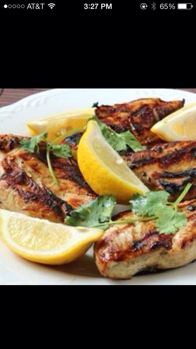 Greek Style Chicken Breast..yum!