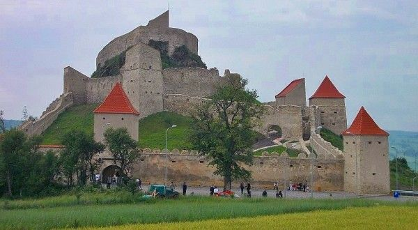 Rupea Fortress -  Historians believe that the fortress was built on old Dacian ruins in the early 1300's.