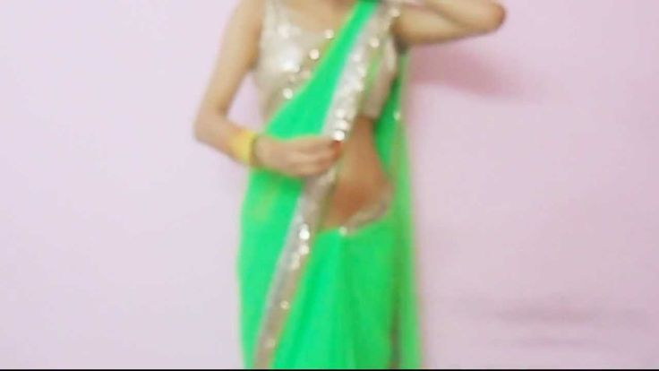 How To Wear Backless Sari Blouse-How To Wrap Backless Saree Blouse/Saree...