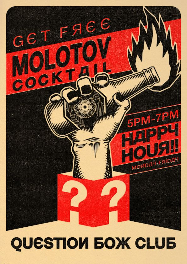 Molotov Cocktail by ElPino0921.deviantart.com on @deviantART