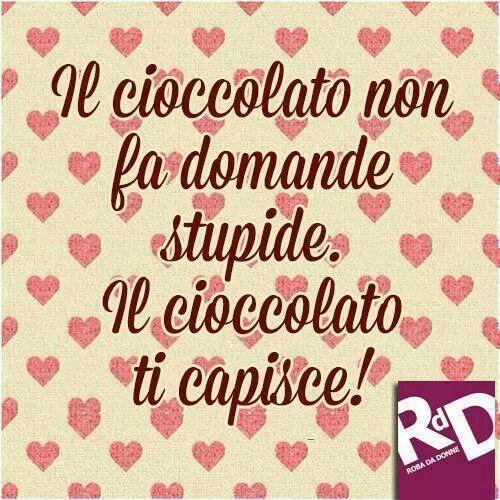 adoro il cioccolato