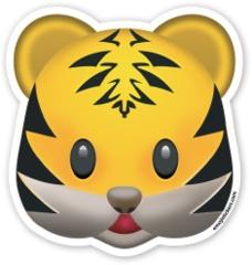 Tiger Face | Emoji Stickers