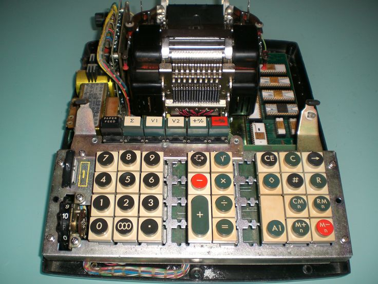 IME 144P from 1971 - Internal and printer view