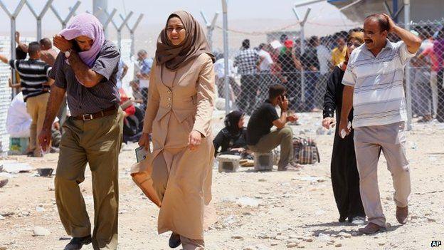 Iraq crisis: Islamists force 500,000 to flee Mosul - Source - BBC News - © 2013 BBC #Iraq, #Crisis, #Mosul