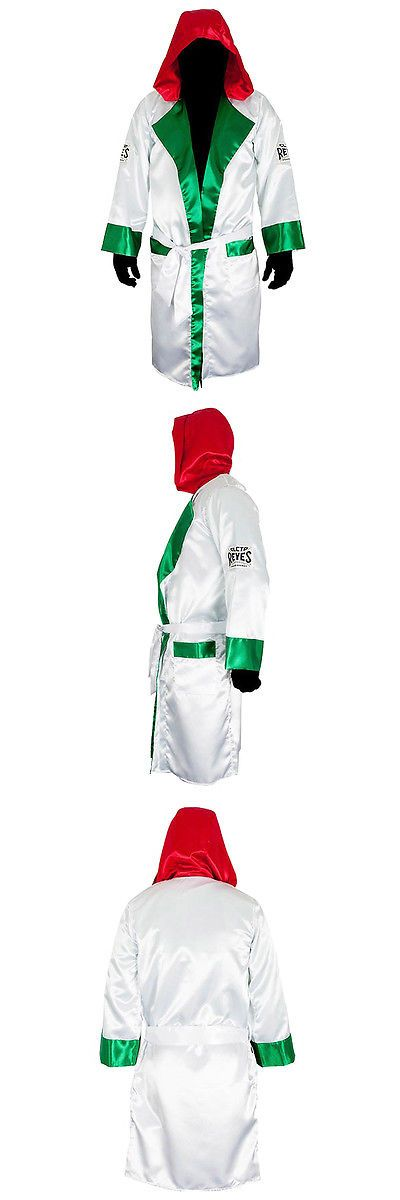 Robes 179773: Cleto Reyes Satin Boxing Robe With Hood - Mexican Flag -> BUY IT NOW ONLY: $55 on eBay!