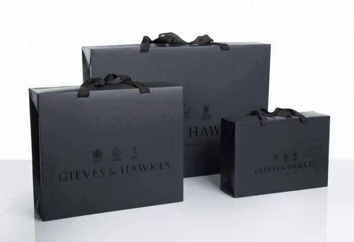Gieves & Hawkes - Branding & identity and packaging by Alexandra Grey