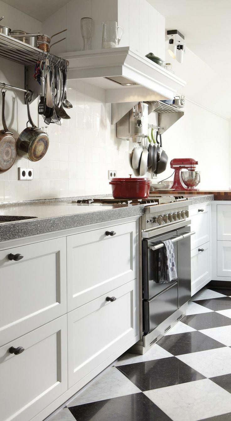 25 beste idee n over kleine landelijke keukens op pinterest landelijke keuken grijs keukens - Idee deco keuken grijs ...