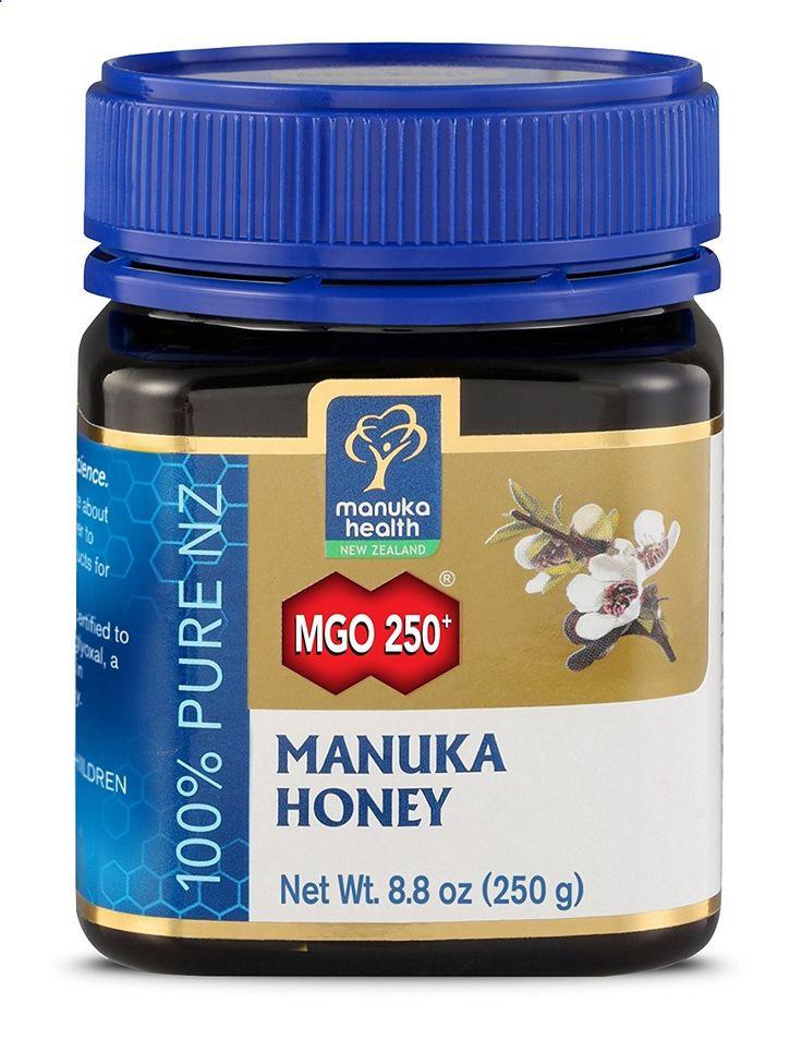 Manuka Honig MGO 250 – super bei Halsschmerzen und gegen hormonelle Akne