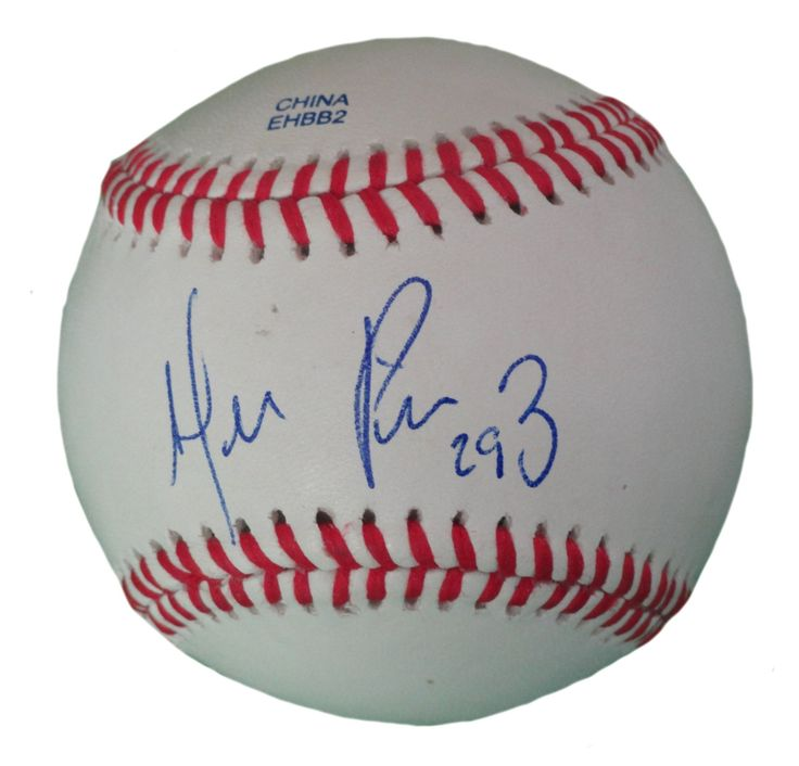 Hernan Perez Autographed Rawlings ROLB1 Leather Baseball, Proof Photo. Hernan Perez Signed Rawlings Baseball, Milwaukee Brewers, Detroit Tigers, Proof   This is a brand-new Hernan Perezautographed Rawlings official league leather baseball.Hernansigned the baseball in blueball point pen.Check out the photo of Hernansigning for us. ** Proof photo is included for free with purchase. Please click on images to enlarge. Please browse our websitefor additionalMLB autographed…