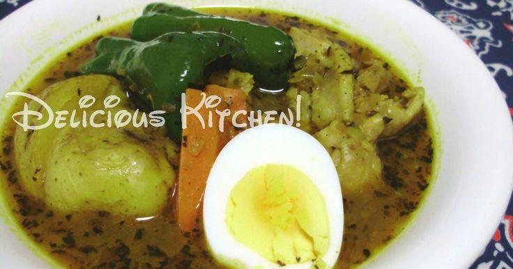 市販の固形ルーは使わないで!  札幌のスープカレーは、 焦がしバジルとスパイスでね♡  簡単においしくできますよ♪