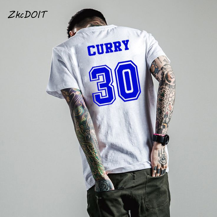 mens hairstyles T shirt basketbal curry