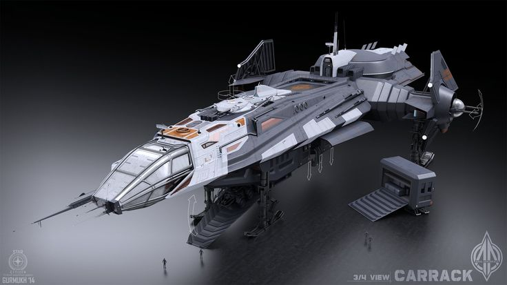 ArtStation - Carrack Concept Art (Star Citizen), gurmukh bhasin